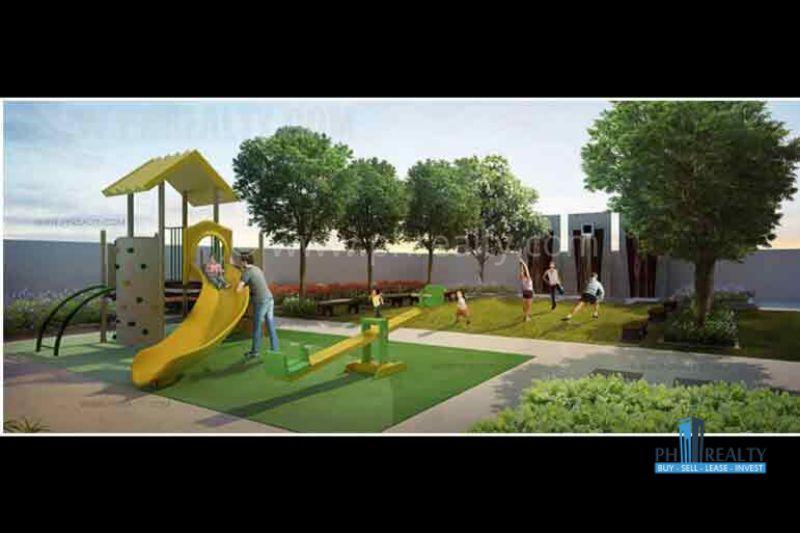 Playground and Tai - Chi Area