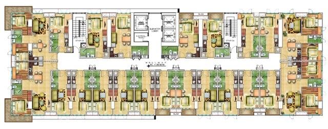 10th Floor Plans