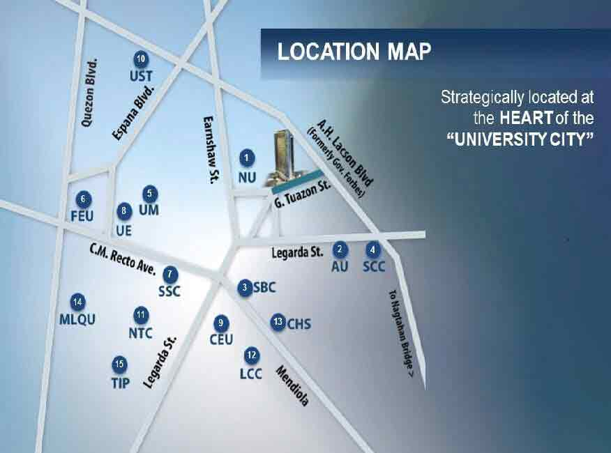 Forbes Hall Location