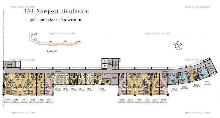 Wing B Floor Plan