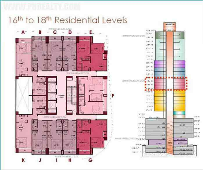 16th to 18th Residential Levels