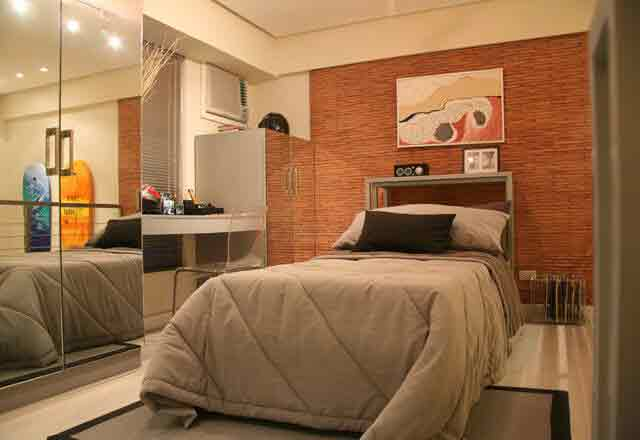 1 Bedroom Loft- Bedroom Area