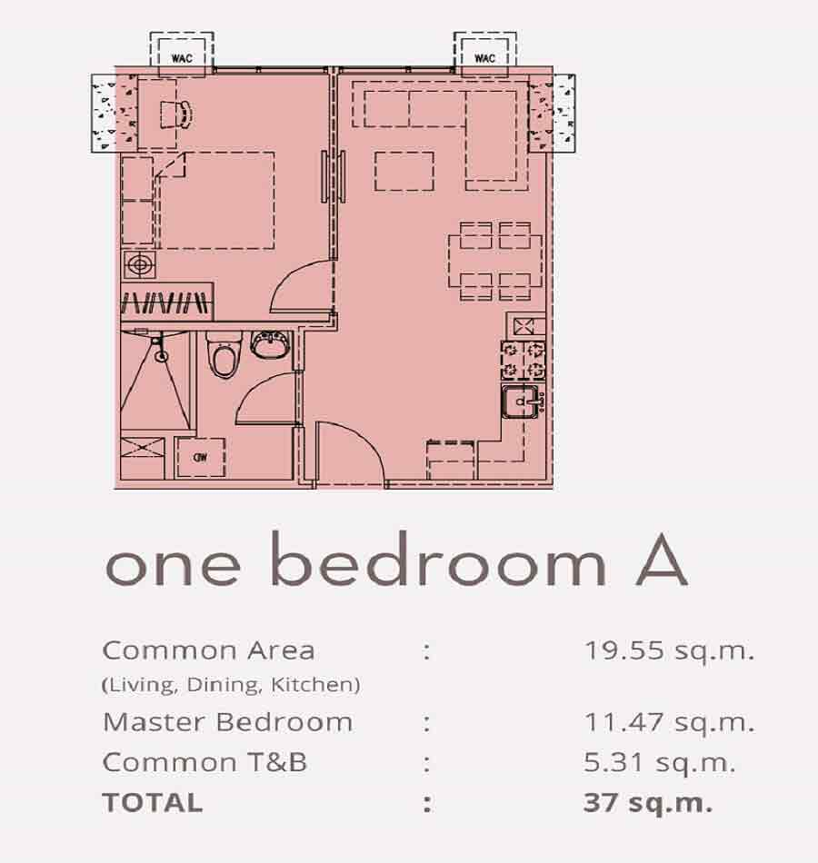 One Bedroom A