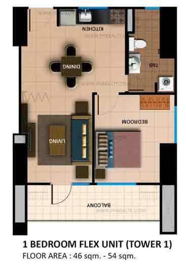 One Bedroom Flex Unit