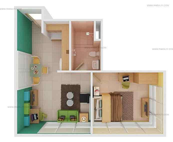 1 Bedroom Unit 9