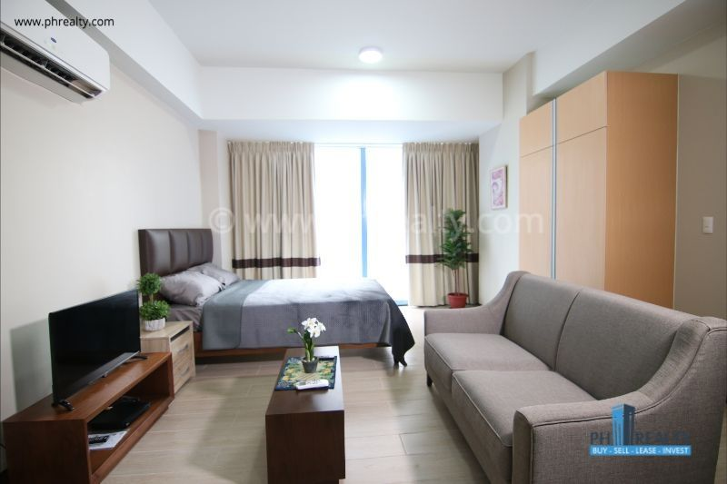 Living Area and Bedroom