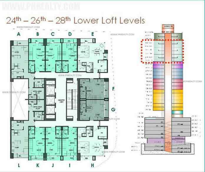 24th-26th-28th Lower Loft Levels