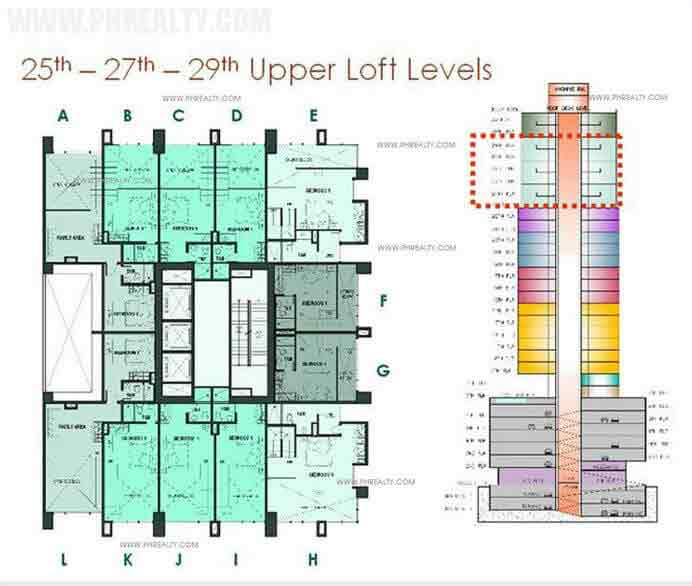 25th-27th-29th Upper Loft Levels