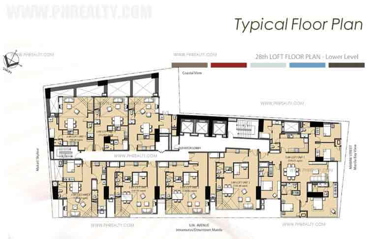 28th Loft Floor Plan