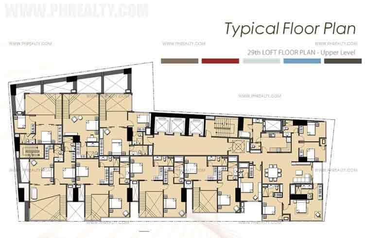 29th Loft Floor Plan