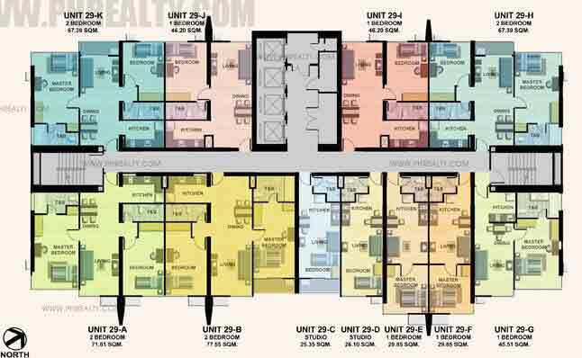 29th Floor Plan