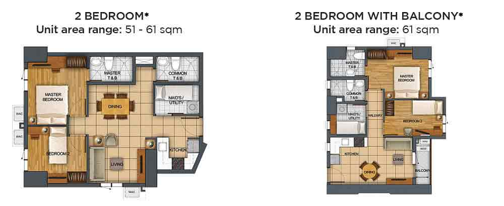 2 Bedroom Unit