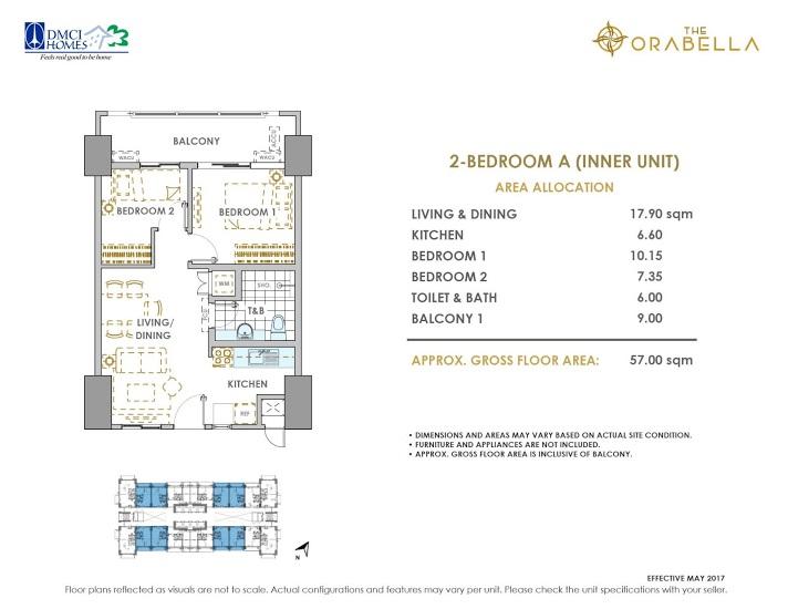 2 - Bedroom A ( Inner Unit )