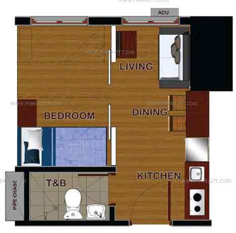 2 - Bedroom Floor Plan