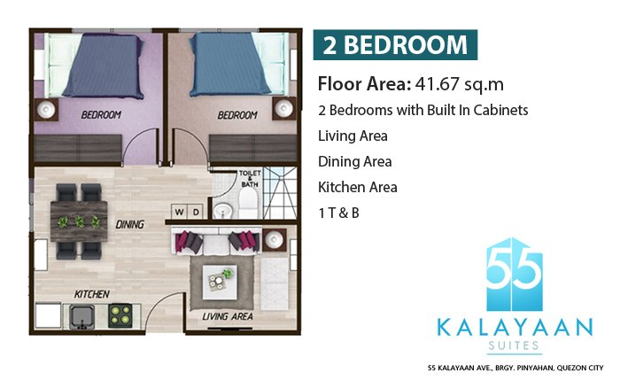 2 - Bedroom Unit
