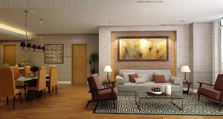 2 - Bedroom Living & Dining Areas