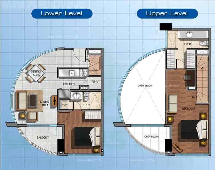 2 - Bedroom Loft A