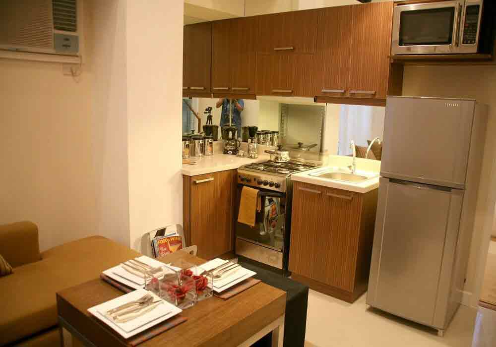 2 Bedroom Loft- Kitchen Area