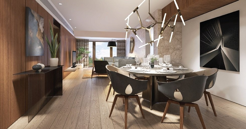 2 BR - Dining Area
