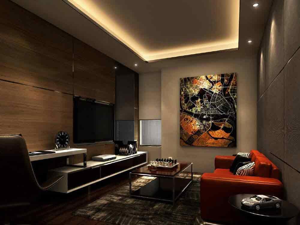 2 Bedroom Glass Suite Plus - Living Area