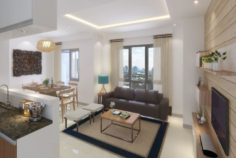 2 BR - Living Area