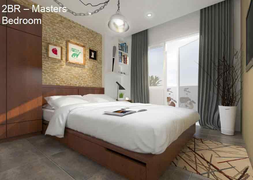 2 BR Masters Bedroom