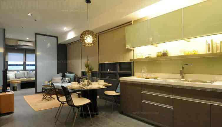 2 BR Model Unit Dining