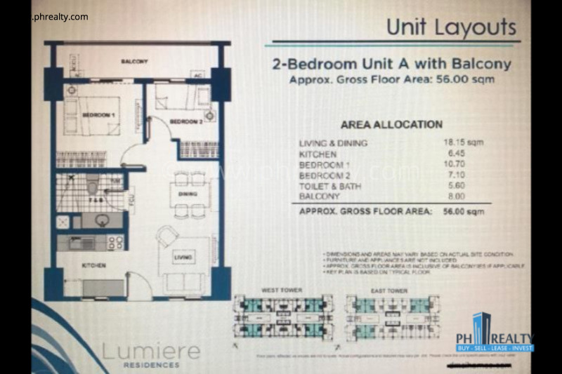 Lumiere Residences For Resale.