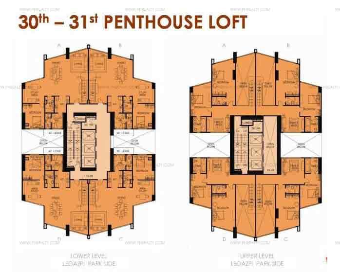 30th-31st Floor