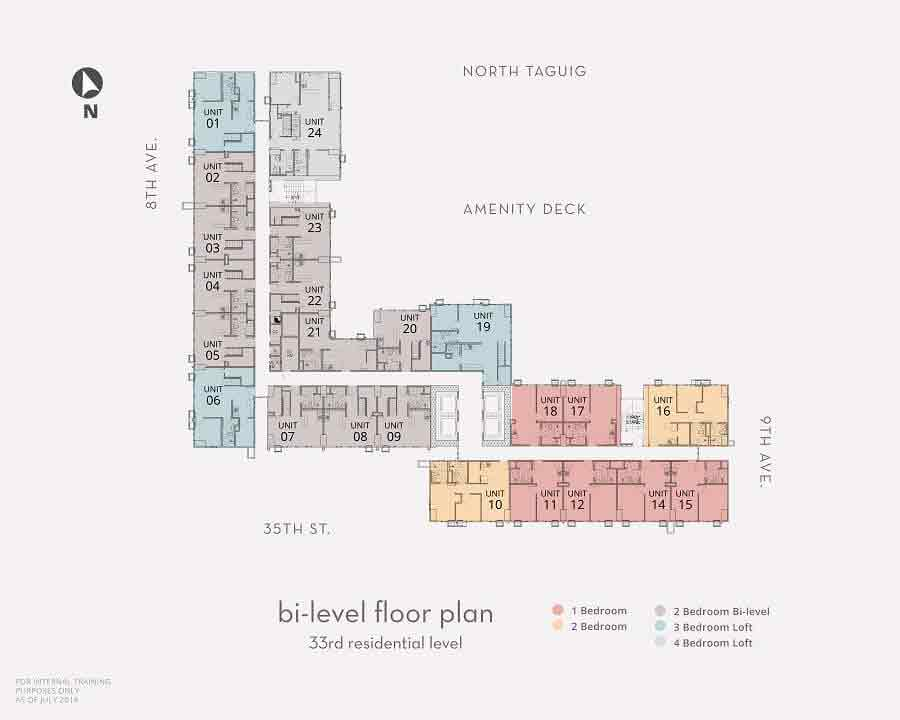 Bi - Level Floor Plan