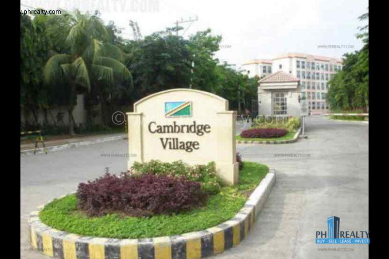 Cambridge Village For Resale.
