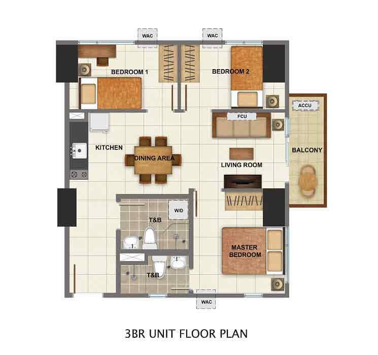 3rd Unit Floor Plan