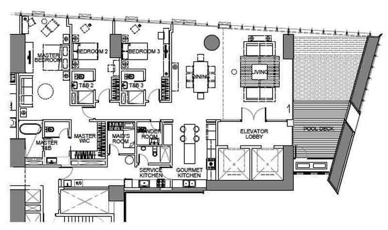3 BR Aquaview Villa