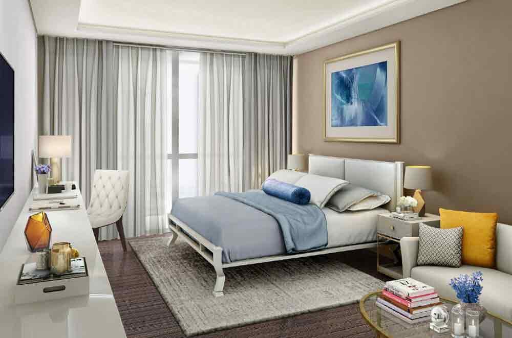 3 BR Glass Suite Plus - Bedroom