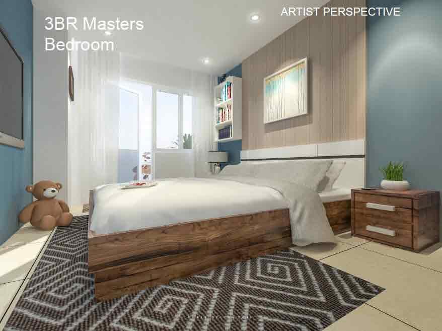 3 BR Masters Bedroom