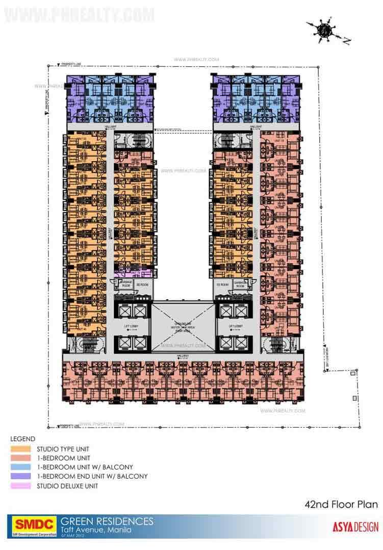 42nd Floor Plan
