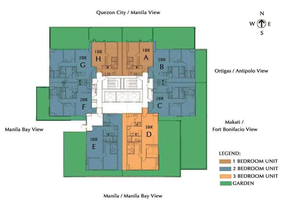 5th Floor Typical Floor Plan