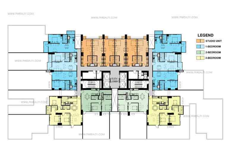 Two Maridien 6th Floor Plan