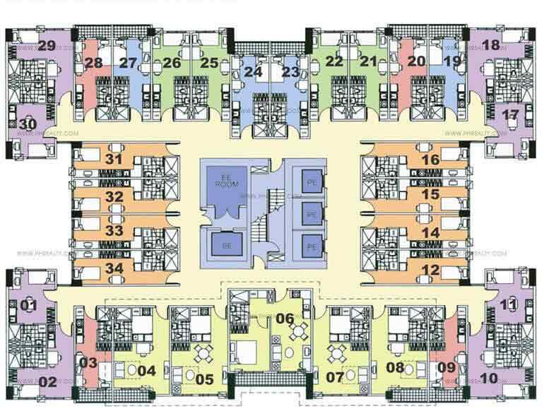 6th- 21st Floor