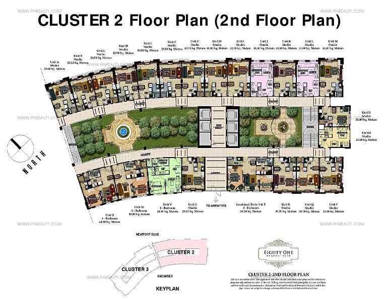 Cluster 2 Floor Plan