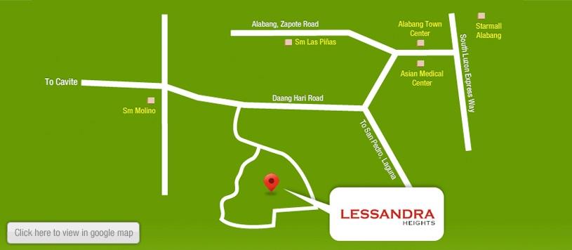 Lessandra Heights Location