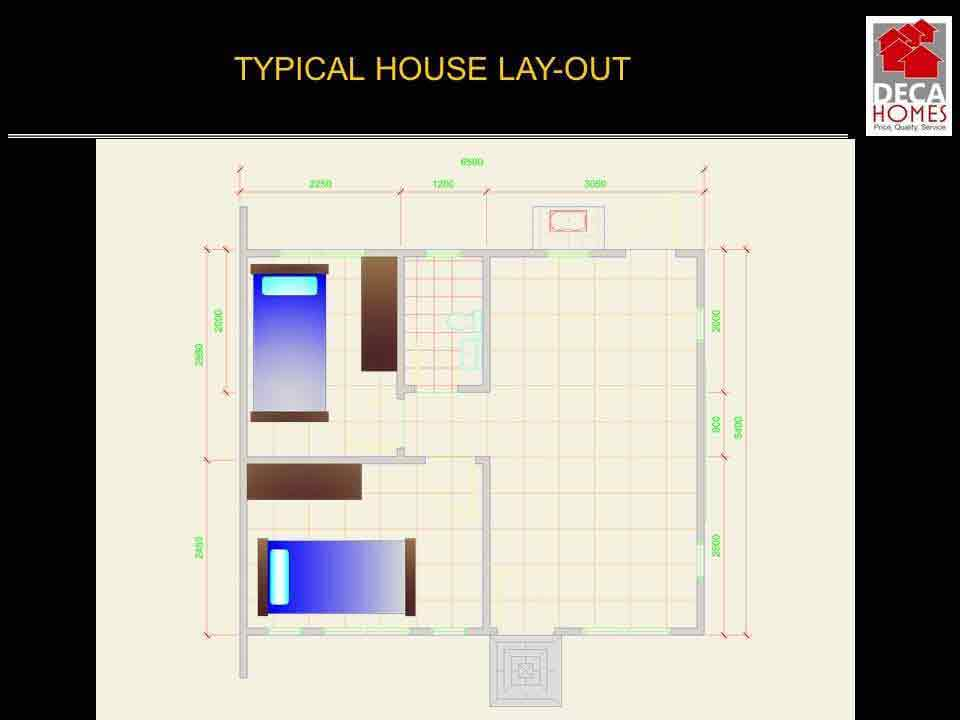 Typical House Layout