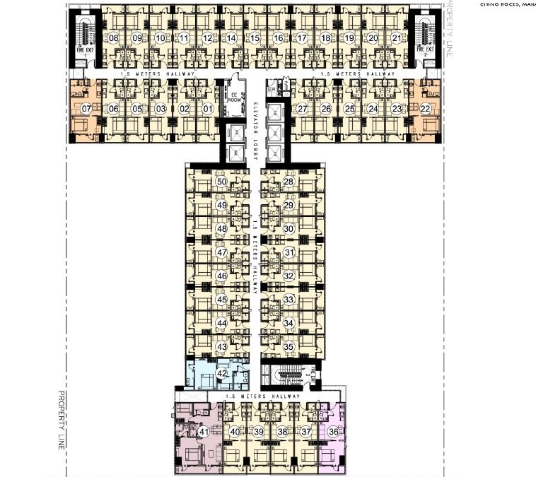9th - 30th Floor