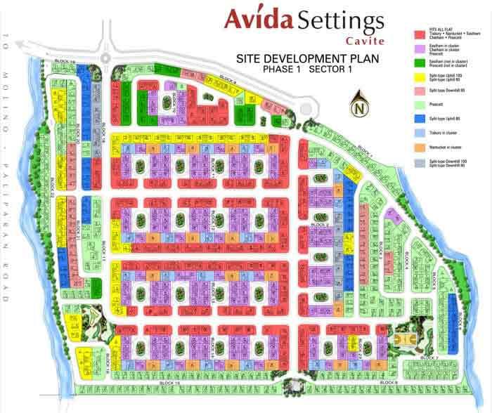 Site Development Plan Phase 1