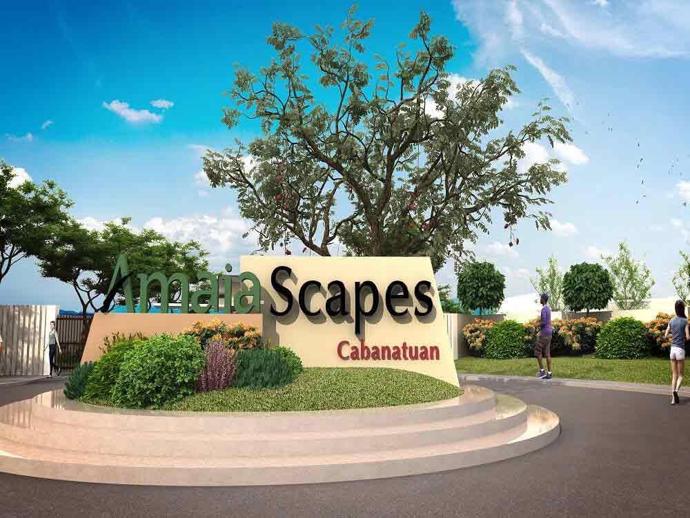 Amaia Scapes Cabanatuan-Signage