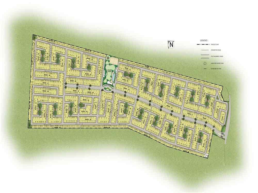 Amaia Scapes Laguna- Site Development Plan