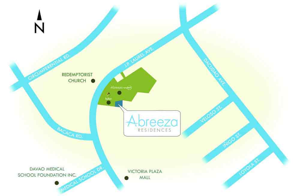 Abreeza Residences Location