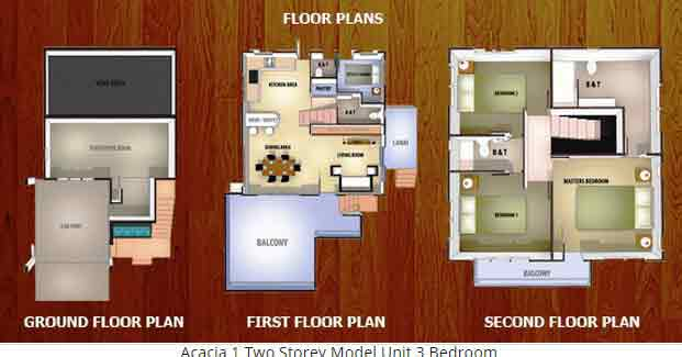 Acacia I Floor Plan