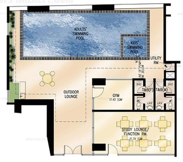 Ameneties Floor Plan