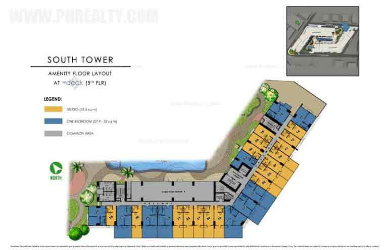 Amenity Floor Layout